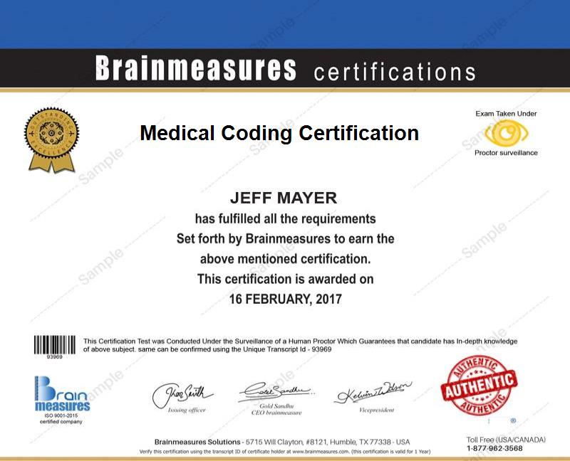 Medical Coding Certification Usd 85 L Course